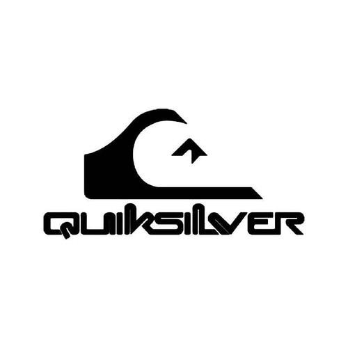 quiksilver surf logo 2 vinyl sticker