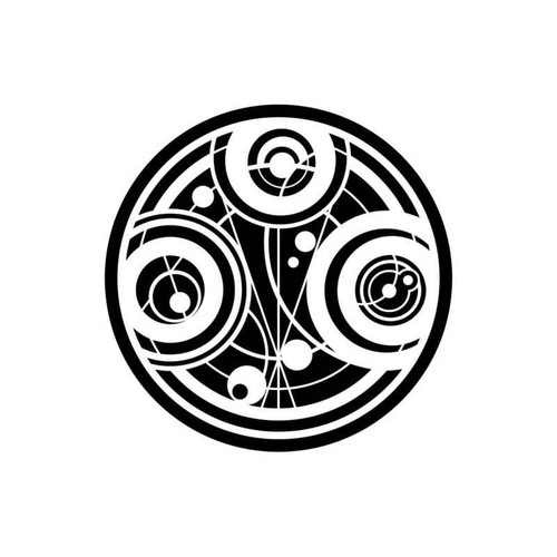 Doctor Who Gallifrey Time Lord Seal Of Prydonian Decal