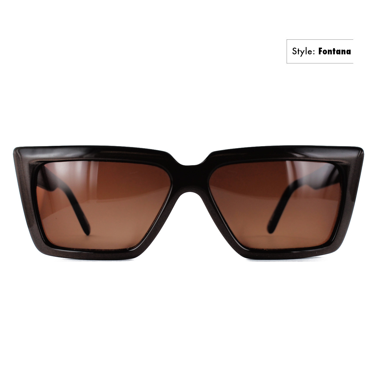 GEEK Eyewear GEEK FONTANA Sunglass in Black