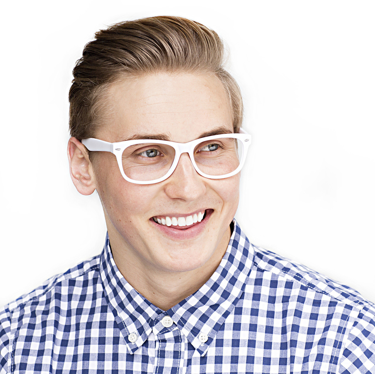 GEEK Eyewear GEEK DJ HOT White Matt