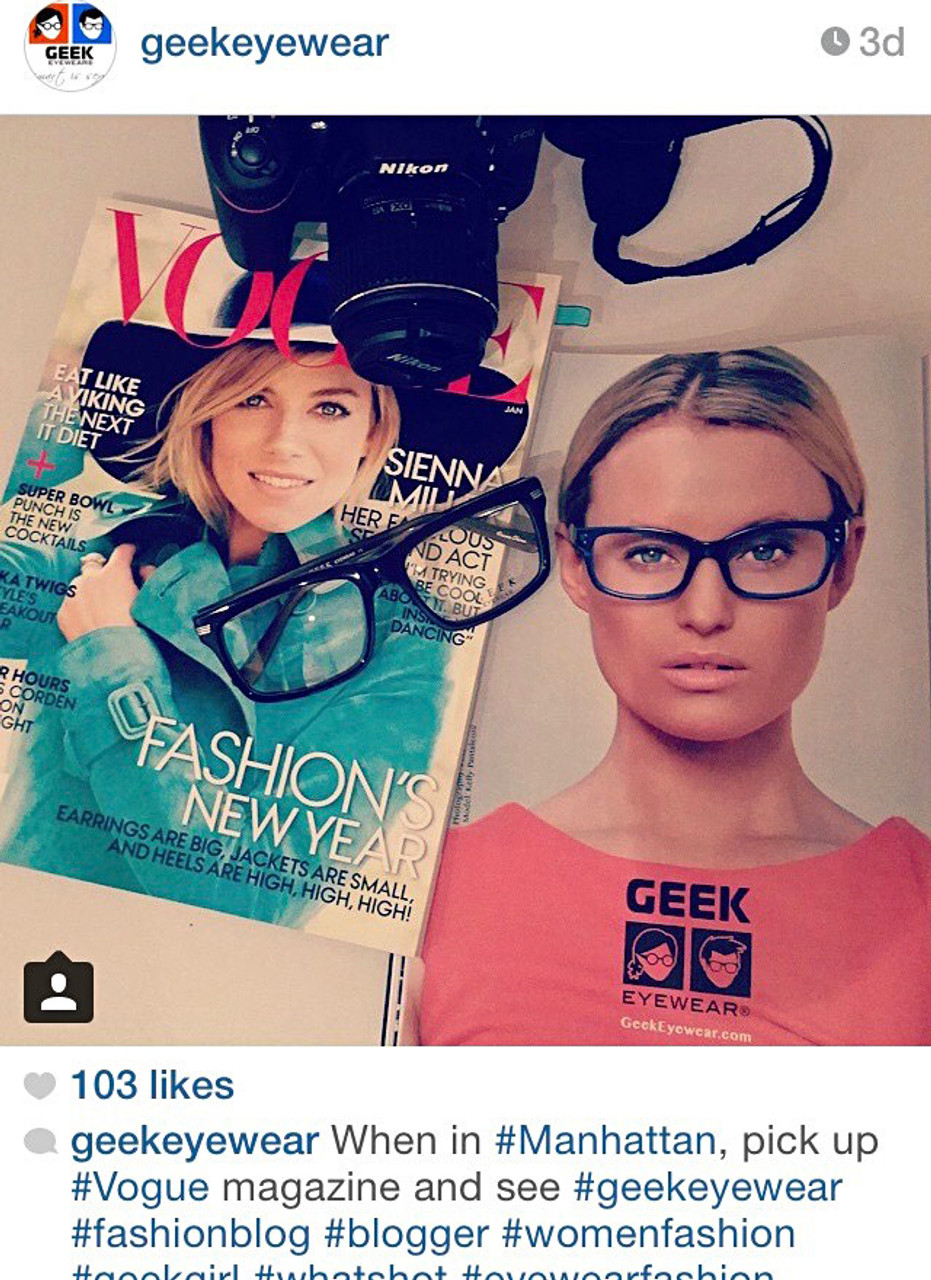 GEEK Eyewear Trendy Readers