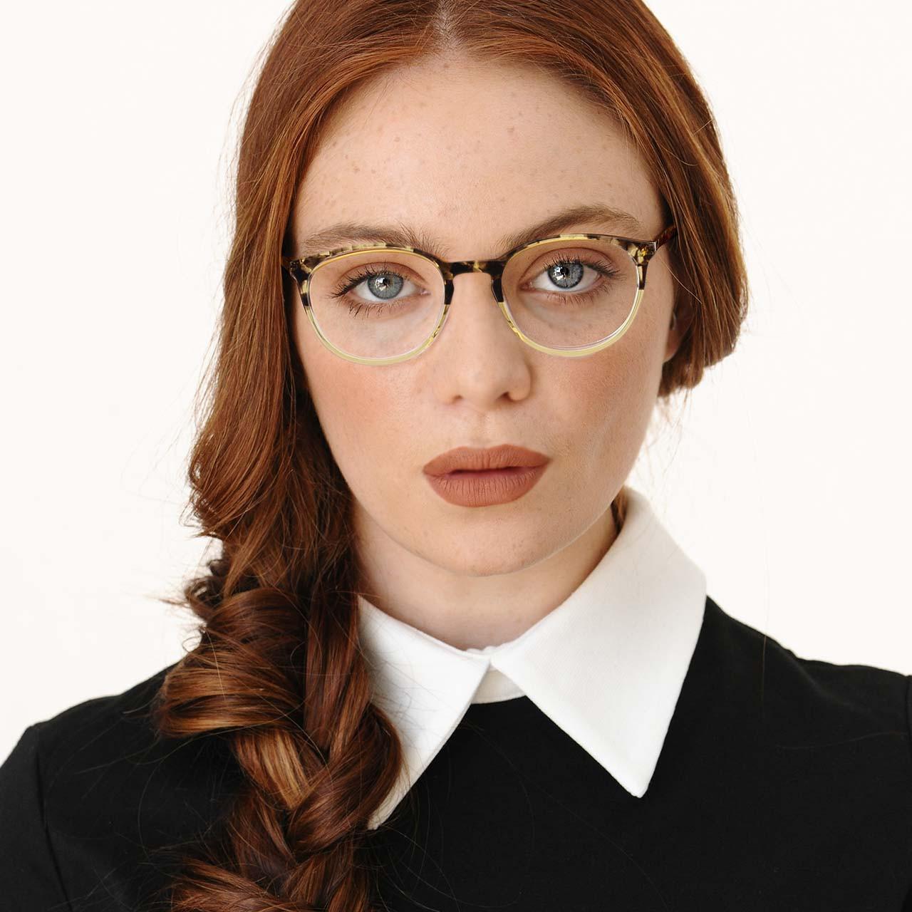 GEEK Eyewear Style Hipster Tortoise