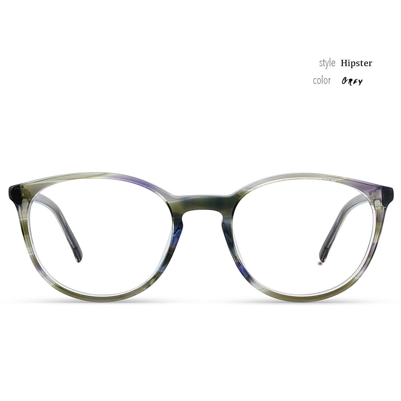 GEEK Eyewear Style Hipster Grey