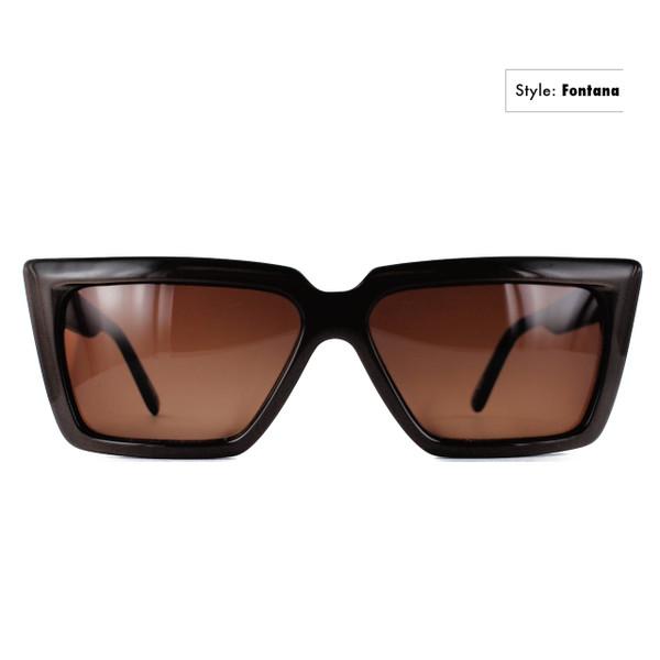 GEEK Eyewear GEEK FONTANA Sunglass in Black