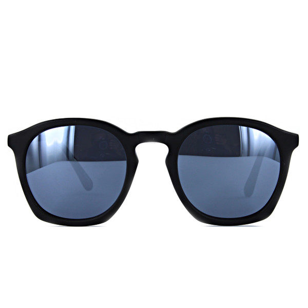 Rouq 4.0 Black Matt with Silver Mirror Lenses
