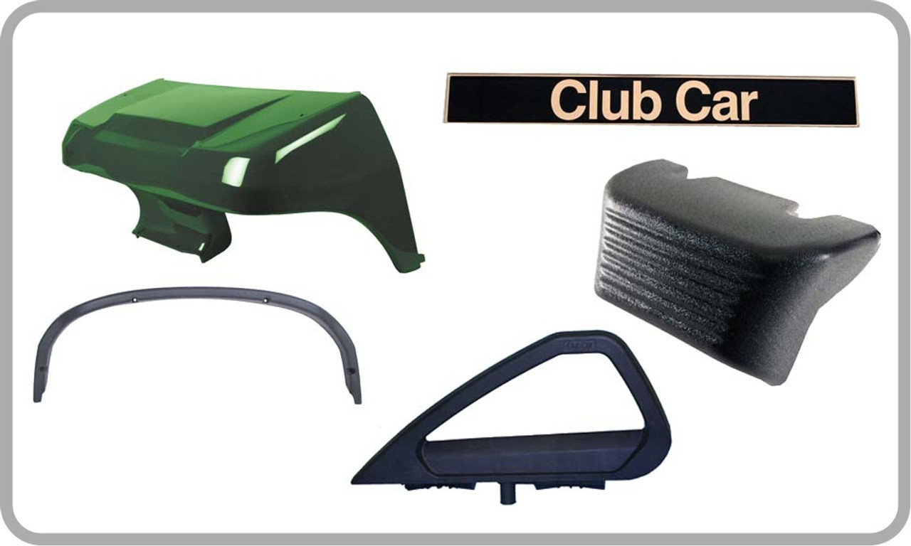 club car parts at diy golf cart fast reliable shipping 1994 Club Car Specs body trim parts