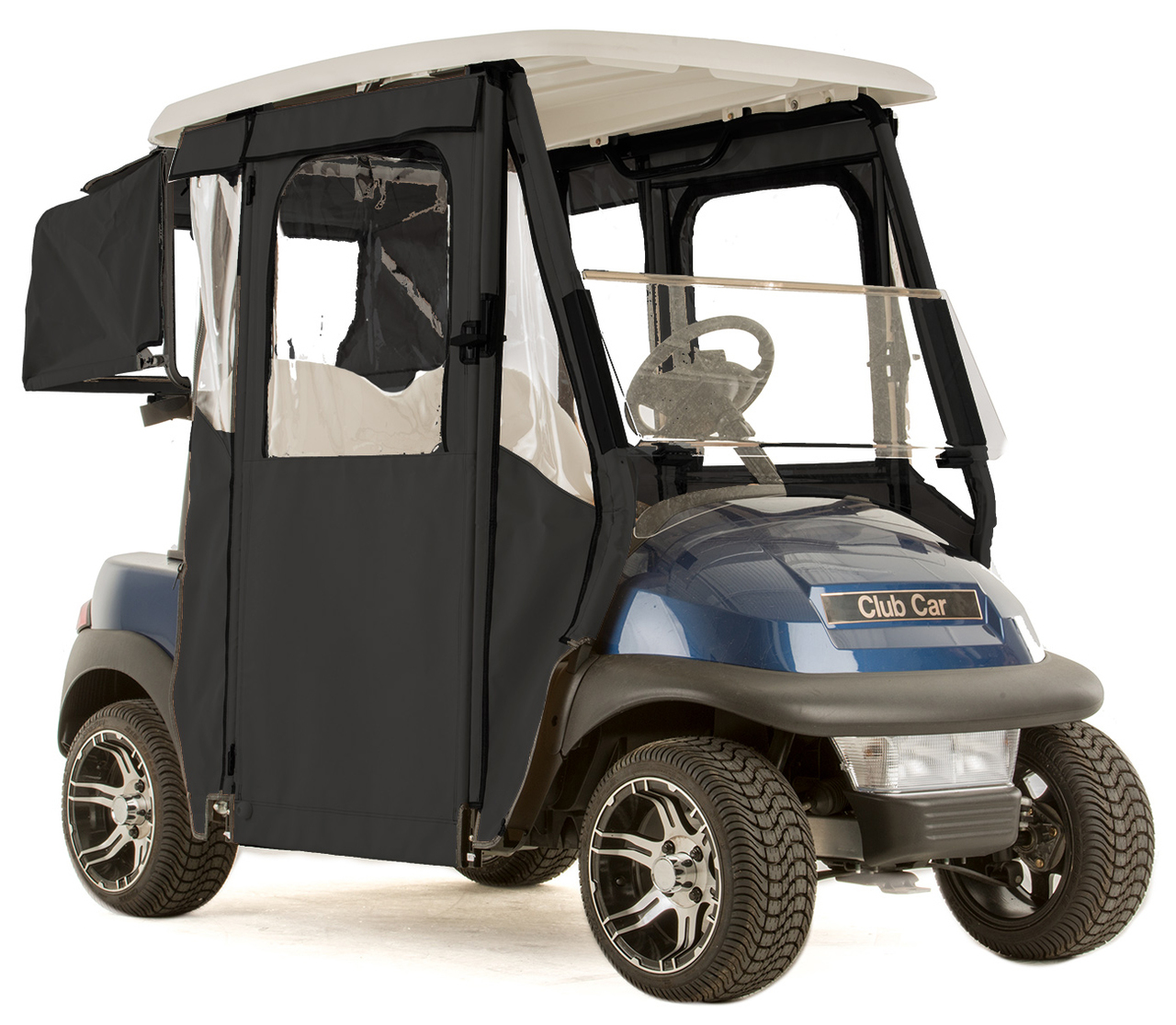 "Club Car Precedent ""DOOR-LUX"" 3-Sided Sunbrella Door Works"