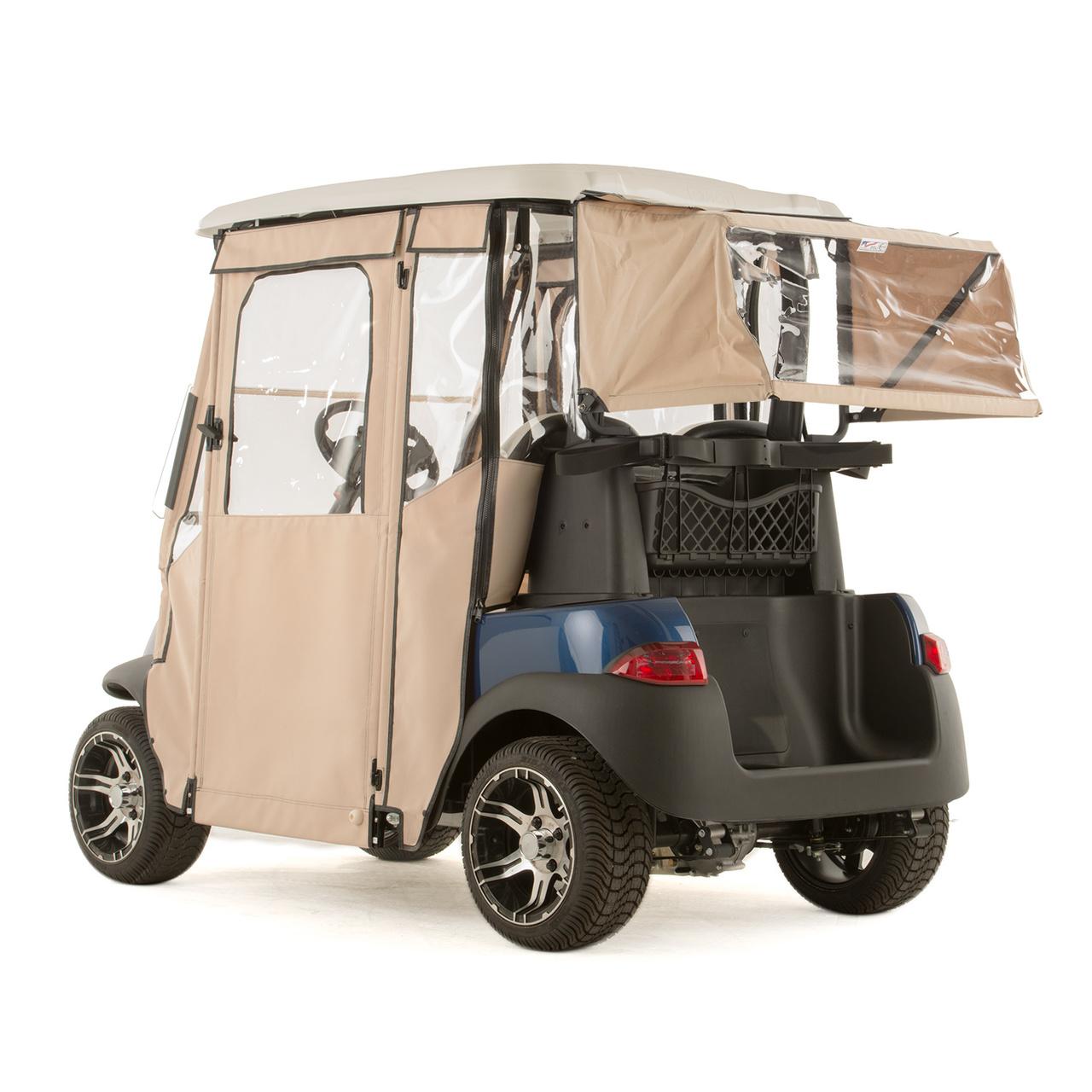 Club Car Precedent Quot Door Lux Quot 3 Sided Sunbrella Door Works