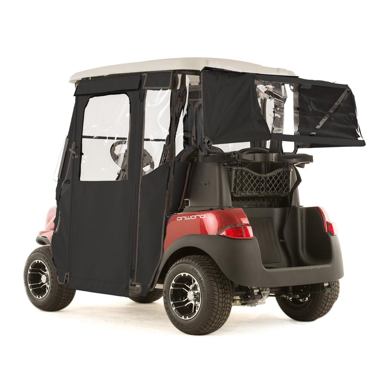 Club Car Onward Quot Door Lux Quot 3 Sided Sunbrella Door Works