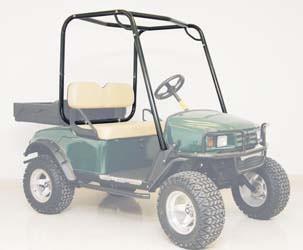 Ezgo Txt 1994 Up Upper Brush Guard Roll Cage Golf Cart