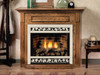 "White Mountain Hearth EMBF1SC 32"" Standard Mantel in Cherry - shown in dark oak finish"