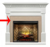 Dimplex BMT-1801 Faux Surround for Christina Mantel, Choice of Finish
