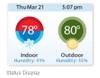 Daikin DACATS11 ENVi Intelligent Wired Thermostat