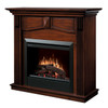 Dimplex DFP4765BW Holbrook Electric Fireplace Package with Log Set