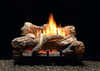 White Mountain Hearth Flint Hill Vented/Vent Free Gas Log Set, Choice of Burner Valve