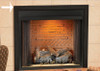 "White Mountain Hearth VBS32SBL 32"" Outer Frame in Matte Black"