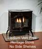 White Mountain Hearth VFD10CC30 Heritage Series Vent-Free Millivolt Stove with 10000 BTU Contour Burner