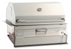 """Fire Magic 12-SC01C-A Legacy 24"""" Built-In Charcoal Grill/Smoker"""