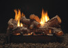 White Mountain Hearth Rock Creek Log Set - Choice of See-Through Vent Free Burner