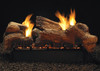 White Mountain Hearth Stone River Log Set - Choice of See-Through Vent Free Burner