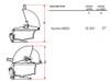 "Fire Magic A660i-5E1P Aurora 30"" Built-In Gas Grill - Liquid Propane"