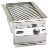 Fire Magic 3287-1N Built-In Single Searing Station/Side Burner - Natural Gas