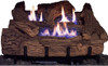 Everwarm Palmetto Oak Log Set - Choice of Vent Free Burner