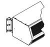 "Mars J0005 4"" Clearance Offset Adjustable Angle Mounting Bracket"