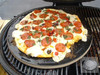 "Primo PRM338 16"" Porcelain Glazed Pizza Baking Stone"