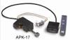 "RH Peterson Real-Fyre G4-18/20 18"" / 20"" Glowing Ember Vented Burner with APK-17N Valve - Natural Gas"