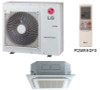 LG LC187HV 18000 BTU 4-Way Ceiling Cassette with Grille, Single Zone System, 230 Volt