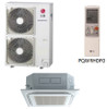 LG LC427HV 42000 BTU 4-Way Ceiling Cassette with Grille, Single Zone System, 230 Volt