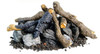 American Fyre Designs OCBW-34 Beachwood Logs and Stones