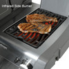 Napoleon P500RSIBPSS1 Prestige Series Freestanding Gas Grill with Infrared Rear and Side Burners - Liquid Propane
