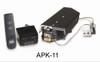 "RH Peterson Real-Fyre GX4-18/20 18"" / 20"" Glowing Ember Vented Burner and APK-11N Valve - Natural Gas"
