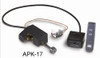 "RH Peterson Real-Fyre GX4-18/20 18"" / 20"" Glowing Ember Vented Burner and APK-17P Valve - Liquid Propane"