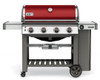 Weber 62030201 Genesis II SE-410 Freestanding Gas Grill - Crimson - LP