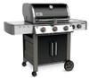 Weber 66014001 Genesis II LX E-340 Freestanding Gas Grill with Side Burner - Black - NG
