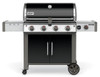 Weber 67014001 Genesis II LX E-440 Freestanding Gas Grill with Side Burner - Black - NG