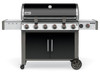 Weber 68014001 Genesis II LX E-640 Freestanding Gas Grill with Side Burner - Black - NG