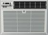 GE AEM05LX 5200 BTU Window Unit Room Air Conditioner - Energy Star