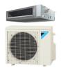 Daikin FDMQ12RVJU / RX12RMVJU 12000 BTU Concealed Ducted Ceiling Single Zone Mini Split with Heat Pump System