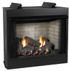White Mountain Hearth VFD36FB0F Deluxe 36 Breckenridge, Vent-Free Firebox with Flush Face