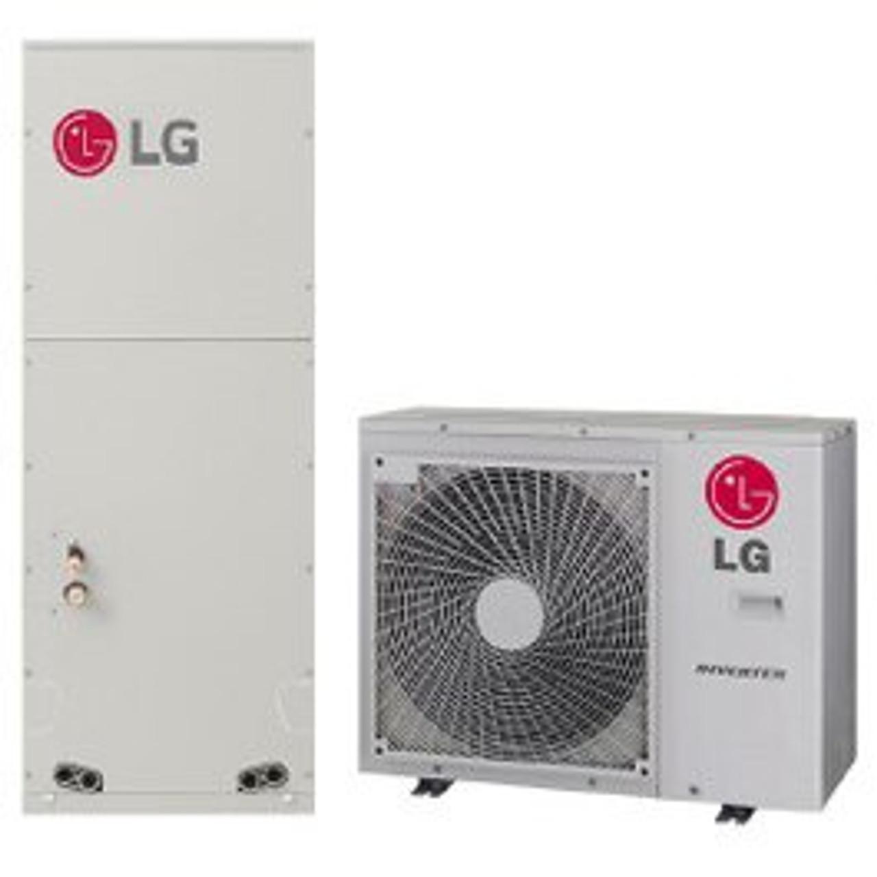 Lg Lv180hv4 18000 Btu Multi Position Air Handler Single