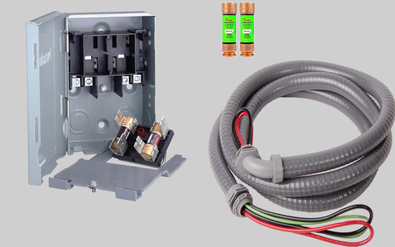 quick disconnect switch kit for mini split air conditioner. Black Bedroom Furniture Sets. Home Design Ideas