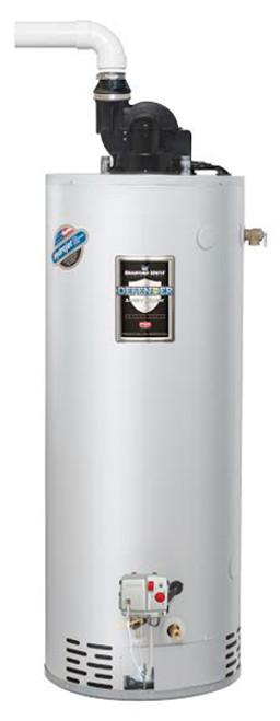 Bradford White  Gallon Natural Gas Water Heater Size