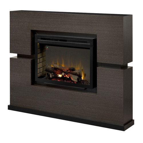 Dimplex GDS33HL-1310RG Linwood Electric Fireplace Package with Log Set
