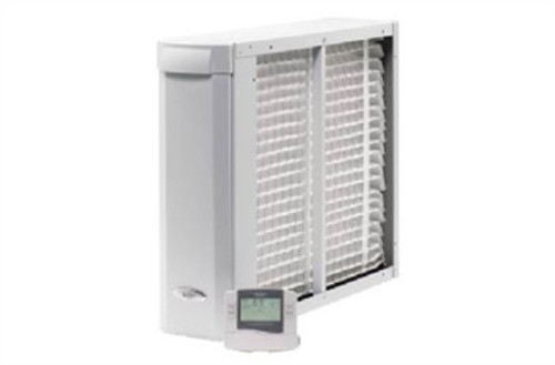 """Aprilaire 3410 3000 Series Whole-Home Air Cleaner with Event-Based Thermostat - 16"""" x 25"""" Filter"""