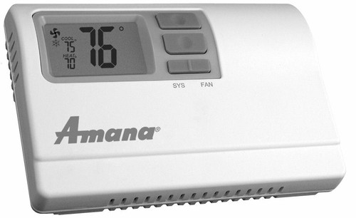 Amana 2246007 Non-Programmable 2 Stage Heat and Cool Wall Thermostat