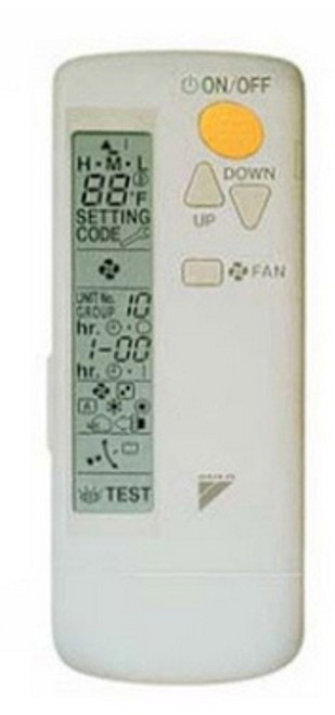 Daikin BRC7E830 Wireless Remote Controller